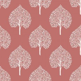 NU1698 Grove Coral Peel and Stick Wallpaper