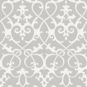 NU1699 Ironwork Grey Peel and Stick Wallpaper