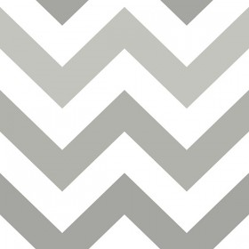 Zig Zag Grey Peel and Stick Wallpaper