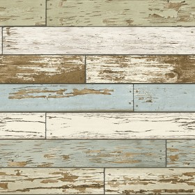 NU2188 Green Old Salem Vintage Wood Planks Peel & Stick Wallpaper