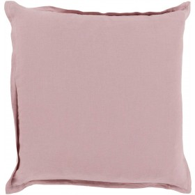 Orianna Pillow with Down Fill in Salmon | OR003-2222D
