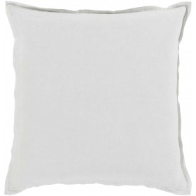Orianna Pillow with Poly Fill in Ivory | OR007-1818P