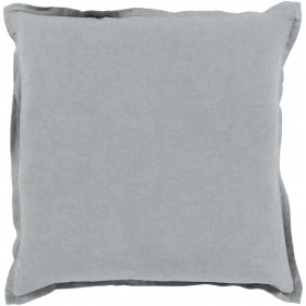 Orianna Pillow with Poly Fill in Gray | OR009-2020P