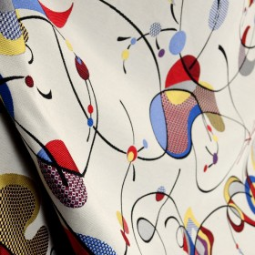 Orbitty Patriot Contemporary Polyester Upholstery Swavelle Fabric