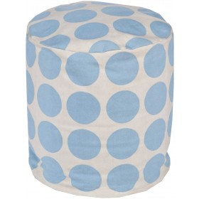 Playhouse Cylinder Pouf   PHPF017-181818