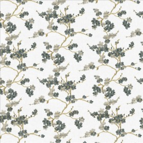 Picturesque Hydrangea Kasmir Fabric