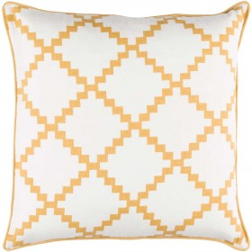 Parsons Pillow with Poly Fill in Gold | PR007-2222P