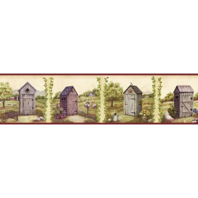 Fredley Blue Country Meadow Outhouse Border