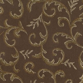 Queen Ann Coffee Kasmir Fabric
