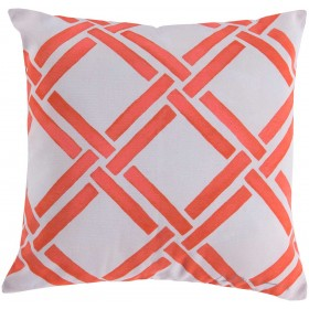 Gazebo Persimmon Outdoor Pink, Tan Pillow | RG026-1818