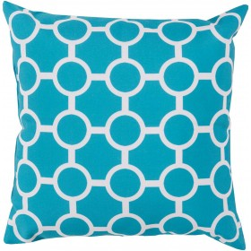 Smooth Circles Blue, Grey Pillow | RG118-2626