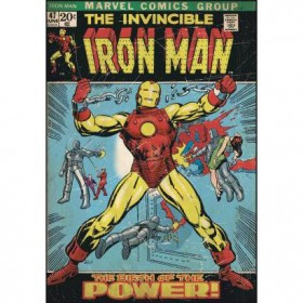 Murals Iron Man Comic Cover Mural