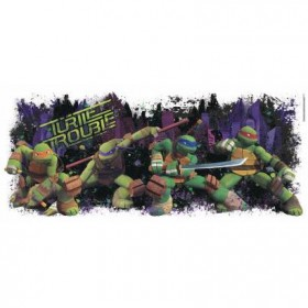 Murals TMNT Turtle Trouble Graphix Giant Wall Decal Mural