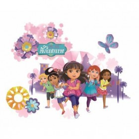 Murals Dora and Friends Wall Graphix Giant Wall Decals Mural