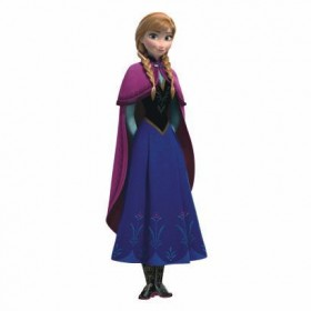 Murals Frozen's Anna With Cape Giant Wall Decal Mural