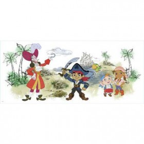 Murals Captain Jake & the Never Land Pirates Giant Wall Graphic Mural