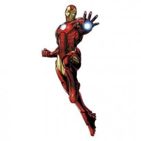 Murals Iron Man Giant Wall Decals with Glow Mural