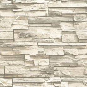 RMK9026WP Natural Stacked Stone Peel and Stick Wallpaper