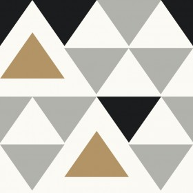 RMK9055WP Geometric Triangle Peel & Stick Wallpaper