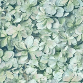 RMK11192WP Hydrangea Peel & Stick Wallpaper