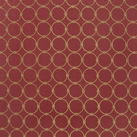 Roundabout Pomagranate Kasmir Fabric
