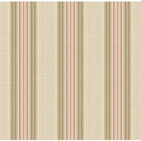 Stansie Mauve Fabric Stripe Wallpaper