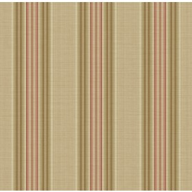 Stansie Wheat Fabric Stripe Wallpaper