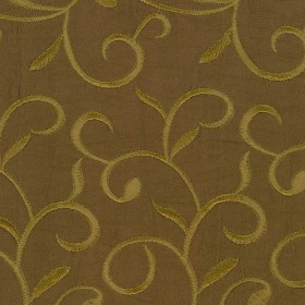 S108 Brass Kasmir Fabric