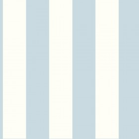 "SA9176 3"" Stripe Blue White Wallpaper"