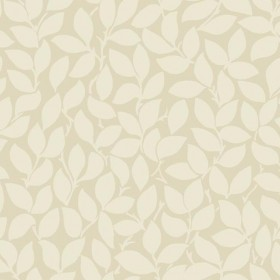 SD3763 Leaf and Vine Beige Iridescent Wallpaper