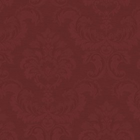 SK34738 In Register Rusty Red Tone on Tone Damask Wallpaper