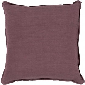 Luxury in Linen Purple Pillow | SL010-1818D