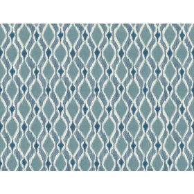 SP1429 Blue Dyed Ogee Wallpaper