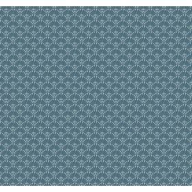 SP1485 Teal/Blue Fan Dance Wallpaper