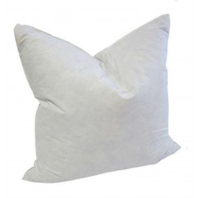 20 x 20 Square Goose Feather Pillow Form Insert