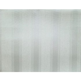 SR1501 Stately Stripe Blue Pearl White Wallpaper