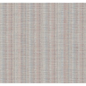 SR1519 Broken Boucle Stripe Beige Red Blue Wallpaper