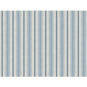 SR1549 Shirting Stripe Blue Putty Wallpaper