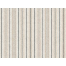 SR1552 Shirting Stripe Gray Cream Wallpaper