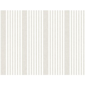 SR1581 French Linen Stripe Soft Linen Wallpaper