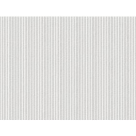 SR1591 New Ticking Stripe Gray Wallpaper