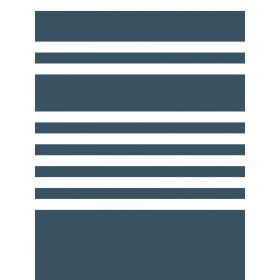SR1617 Scholarship Stripe Navy Wallpaper