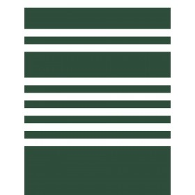 SR1618 Scholarship Stripe Green Wallpaper