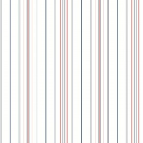 SR1623 Wide Pinstripe Blue Coral Wallpaper