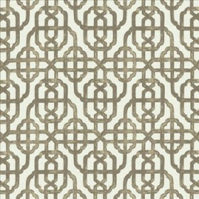 Stately Gate Taupe Kasmir Fabric