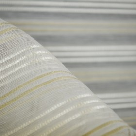 Remnant Sterling Sand Sheer Fabric 118 Inches x .875 Yards