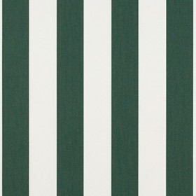 "Sunbr 46"" 4806 Forest Green/Natural 6 Bar Fabric"