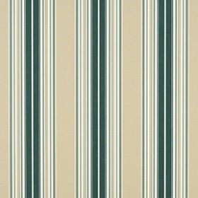 "Sunbr 46"" 4932 Forest Green/Beige/Nat Fancy Stripe Fabric"