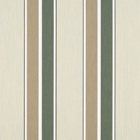 "Sunbr 46"" 4959 Fern/Heather Beige Block Stripe Fabric"
