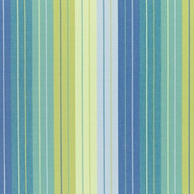Sunbr Furn Stripes Seville 5608 Seaside Fabric